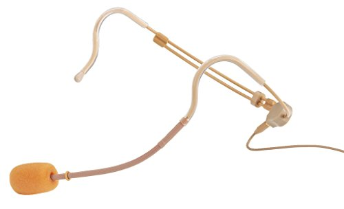 Jts cm de 214ulf Micrófono de diadema Electret, ajustable beige