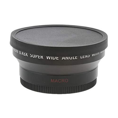 D DOLITY Lente Gran Angular Y Macro De 67 Mm 0.45x para Canon Nikon Cámara Sony Pentax DSLR con Rosca Filtrante De 82 Mm
