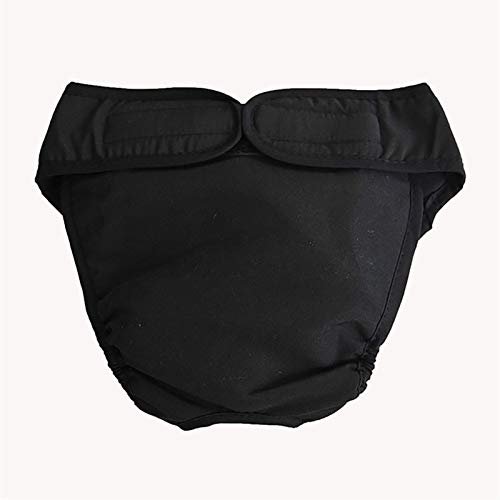 Pantalones Sanitarios Transpirables de algodón, pañales fisiológicos, Almohadillas para el período Menstrual para Mascotas, Ropa Interior, pañal para Perro Hembra Grande