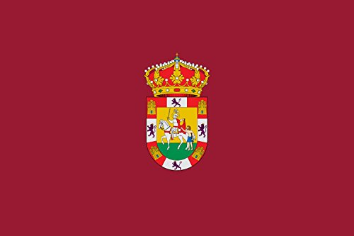 magFlags Bandera Large Representación de la Bandera de Sahagún | Bandera Paisaje | 1.35m² | 90x150cm