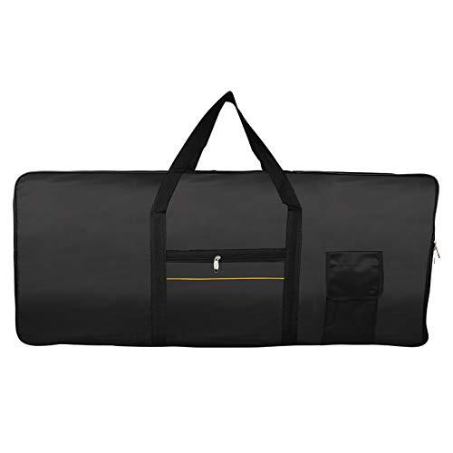 Keyboardtasche Für 61 Keys Electronic Piano Bag Tasten Keyboard Tasche Tragetasche Digital E Piano Tastatur Abdeckung Bag Huelle Oxford Stoff Wasserdicht Klaviertasche