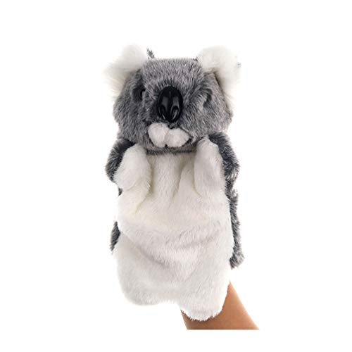 TOYANDONA Marioneta de mano de peluche Koala, juguete de mano suave para bebés, niños, Pascua, cumpleaños, fiestas, juego de rol