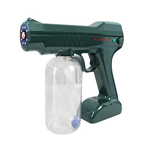 WPHH Handheld Elektrische Sprühgerät ULV Nebelmaschine, 800ML Wiederaufladbare Kabellose Nano Blue Ray Sprühpistole, Batterie Betriebener Zerstäuber Luftbefeuchter Zur Reinigung