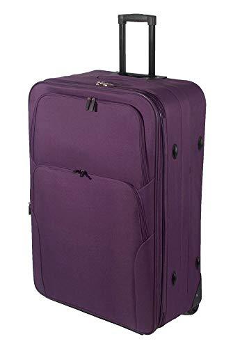 32'/85cm Superlight Extra Large Suitcase Soft Lightweight Expandable Luggage Suitcase Trolley Bag XL