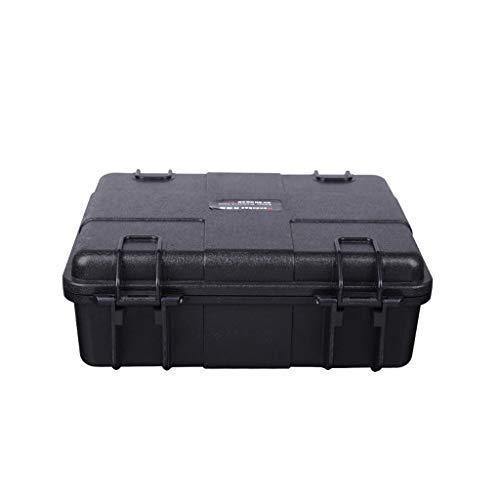 LLKK Caja de Instrumentos de protección Impermeable de plástico,Caja de Almacenamiento de Herramientas,Caja de Equipos de Seguridad Caja a Prueba de Golpes Maleta Caja de Herramientas de plástico