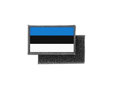 Aufnäher patch aufbügler gedruckt flagge fahne estland