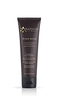 Brazilian Bare Shave Syrup, 4 Fluid Ounce