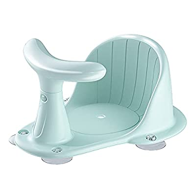 BLANDSTRS Baby Bath Chair with Soft Support, Infant Activity seat for Babies and Toddlers, Green