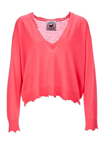 FROGBOX Neon - Oversize - Pullover - Electric pink - froginlove (M)