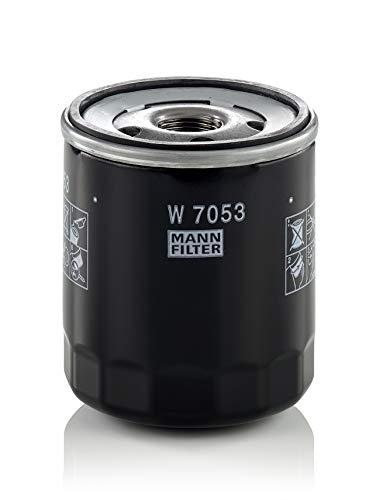 Original MANN-FILTER Filtro de aceite W 7053 – Para automóviles y vehículos de utilidad