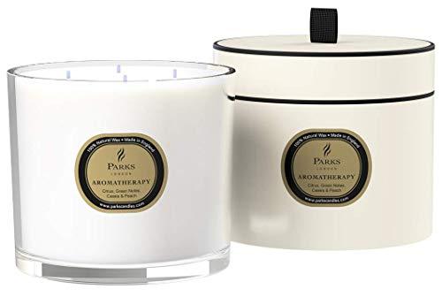 Parks Aromatherapie-Kerze mit 4 Dochten, extra groß