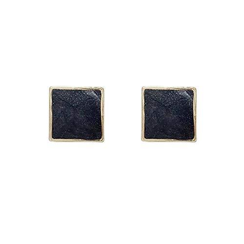 S925 Silver Silver Geometric Geometric Drops Drops Pendientes Nuevos Pendientes De Personalidad (Color : Ear Clip)