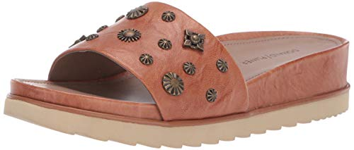 Donald J Pliner Women's CAILO-41 Slide Sandal, Natural, 9.5 B US