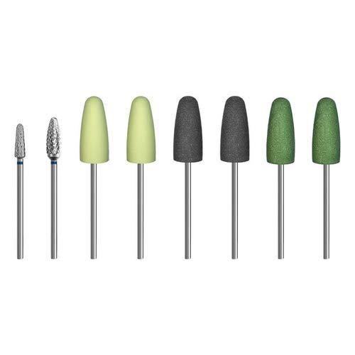 8-tlg. Fräs- und Polierer Set/Fräser für Acrylglas für Dremel, Proxxon