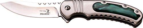 Elk Ridge Couteau de Poche Hunter Acier Inoxydable Acrylique Manche Utilisation, Longueur cm : 11,4 fermé, elkr de 1297