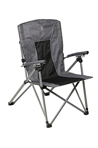 Bo-Camp - Chaise pliable - Deluxe King Plus - 4 positions - Anthracite