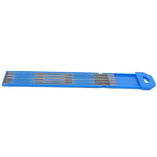 Suministros industriales Varilla de electrodo de tungsteno WC20 10 piezas Ecológico para soldar Acero inoxidable fino Gris 2 x 150 mm para productos de aluminio y aleación