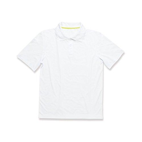 Active By Stedman - Polo de sport uni - Homme (2XL) (Blanc)