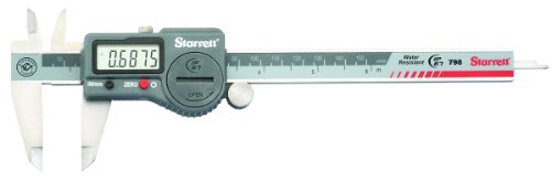 Starrett 799A-6/150 - Calímetro digital (0-150 mm, sin indicador de datos, en maletín de plástico)