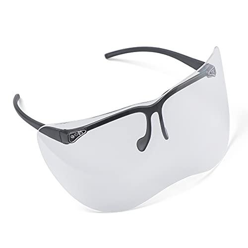 Gafas de seguridad unisex transparentes proteger los ojos anti-peeping gafas de sol reutilizables gafas gafas de ciclismo gafas grandes