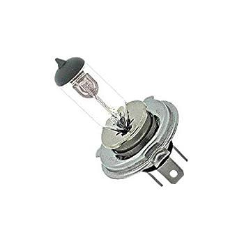 OCTANE LIGHTING 6V 35/35W H4 Halogen Headlight Car Motorcycle Headlamp 3 Pin Prong Light Bulb 6 Volt