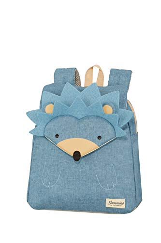 Samsonite Happy Sammies Zainetto per Bambini S, 28 cm, 7 L, Blu (Hedgehog Harris)