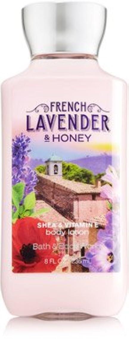 願望マキシム圧縮バス&ボディワークス フレンチラベンダー French Lavender & HONEY ボディローション [並行輸入品]