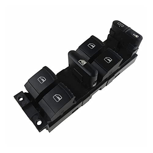 happy time 1J4959857D Interruptor de Ventana FIT para VW Golf Jetta Passat B5 Seat Leon 1998 1999 2000 2001 2002 2003 2004 2005