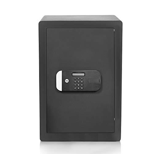 Yale YSEM/520/EG1 Caja Fuerte De Adecuada Seguridad Motorizadas Grande Negro 52 x 35 x 36 centímetros