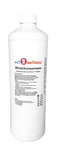 well2wellness Schwimmbad Winterkonservierer/Pool Überwinterungskonzentrat 1,0 l