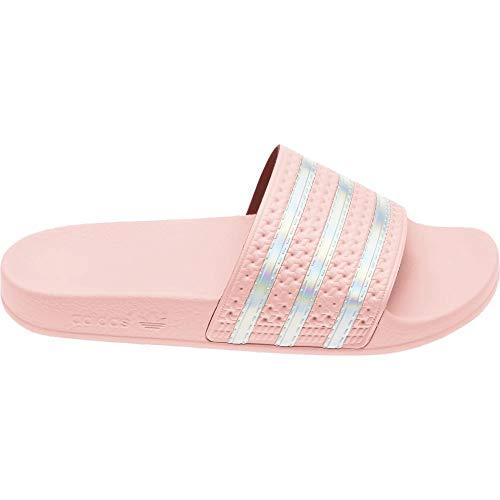 adidas Adilette - Chanclas de baño para mujer, color Rosa, talla 37.5 EU