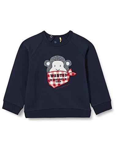 Bellybutton mother nature & me Baby-Jungen Sweatshirt T-Shirt, Navy Blazer|Blue, 80