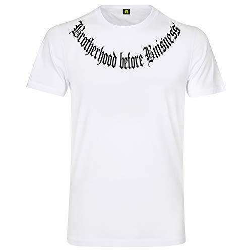 Brotherhood Before Buisness T-Shirt   Dealer   Gang   La Familia Weiß L