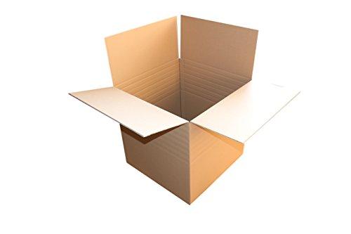 5 St. Versandkarton 600x600x600 mm für PC Monitor Felgen Karton 19 bis 21 Zoll Umzugskartons 2.40 BC 2 wellig stabil Versandschachtel 60x60x60 cm Kiste Post Versandbox