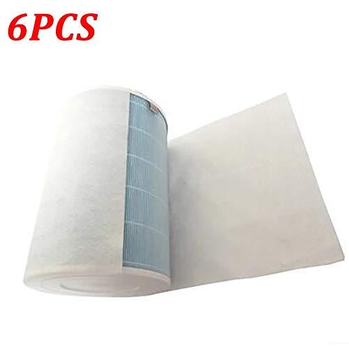Filtre 6PCS de coton for Philips électrostatique Xiaomi MI Climatiseur Purificateur d'air Pro / 1/2 filtre à poussière Hepa Filtre