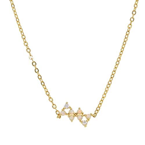 Tianziwen Exquisito mini exquisito collar de señora colgante exquisito collar fino señora moda collar señora regalo de cumpleaños primera opción