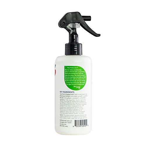 SoCozy Boo! Lice Scaring Spray For Kids Hair   Clinically Proven to Repel Lice   8 fl oz   No Parabens, Sulfates…