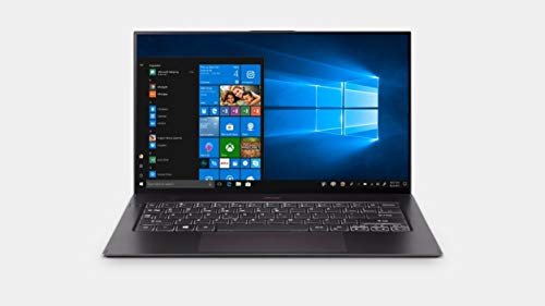 "Acer Swift 7 Thin & Lightweight Laptop 14"" FHD IPS Touch Display in a Thin .10' Bezel, 8th Gen Intel Core i7-8500Y, 16GB LPDDR3, 512GB PCIe NVMe SSD, Back-lit Keyboard, Windows 10 (Black)"