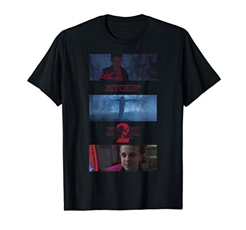 Stranger Things 2 Eleven Bitchin' Panels Camiseta