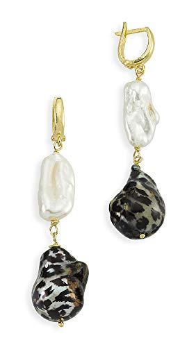 Maison Irem Women's Myrina Earrings, Gold, One Size