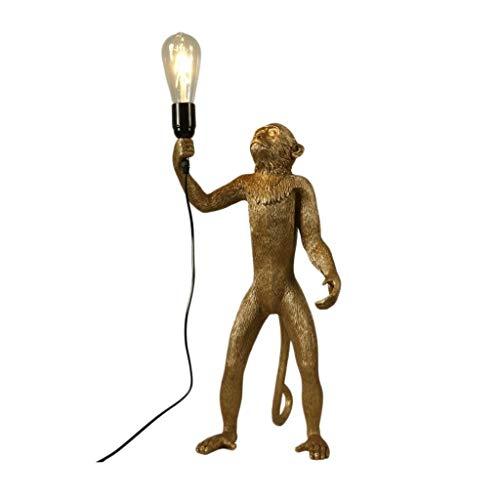 Staande lampen staande lampen staande lampen creatieve persoonlijkheid snoer aap kroonluchter industrie wind dier wandlamp tafellamp restaurant balkon kinderkamer