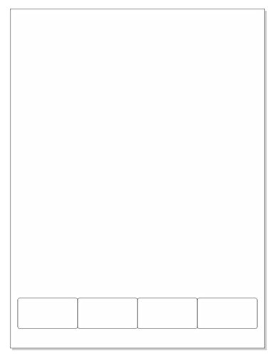 Patient ID Integrated Labels, Medication Labels, 4 per Sheet, Size 2