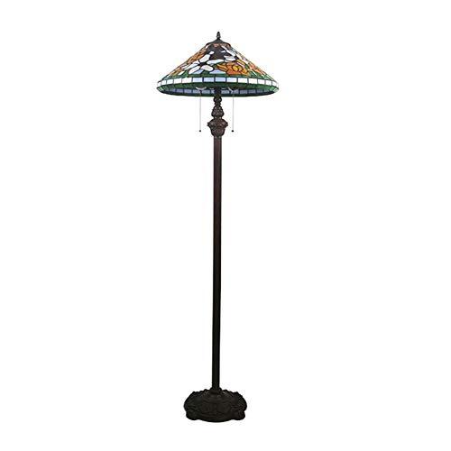 SCAYK Lámparas de pie Parte 2 Lámpara de lámpara de pie para dormitorios Lámpara de Noche
