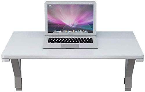 ZJZ witte opvouwbare tafel, kleine huishoudelijke muur opknoping tafel console tegen de muur plank computer bureau