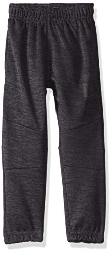 Reebok Boys' Little Active Jogger, Striaded Injected Charcoal, 5