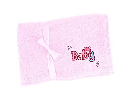 Bieco 38000018 - Kuscheldecke Baby Girl