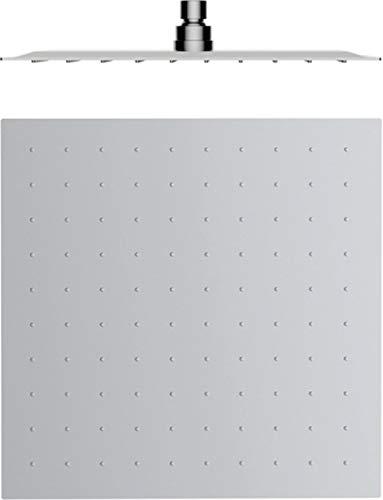 Hoofddouche van gepolijst roestvrij staal regendouche inbouwdouchekoppen douchekop regendouche douchekop 40 x 40 cm roestvrij staal
