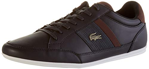 Lacoste Herren Chaymon 120 4 CMA Sneaker, Blk/Dk BRW, 44 EU