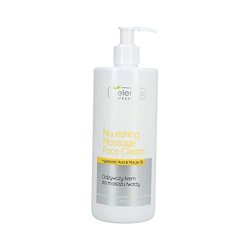 BIELENDA PROFESSIONAL NOURISHING MASSAGE Crema facial ácido hialurónico y aceite de marula 500 ml