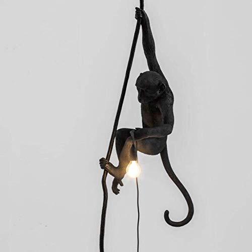 PIAOL Monkey Light Statue Mit Seil -...